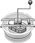 Rotary Attachment for hand sieves