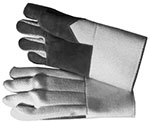 Glass Gloves with leather Palm