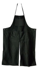 Split-leg Throwing Apron