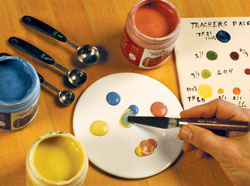 Amaco Teacher's Palette & Teacher's Choice Glazes
